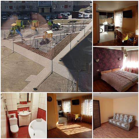 Уютная квартира для моих гостей - Ventspils - Flat