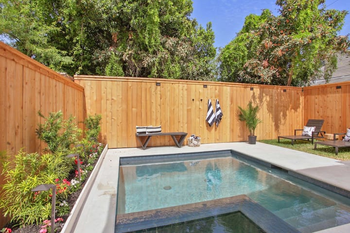 Garden District Home with Pool and Heated Spa