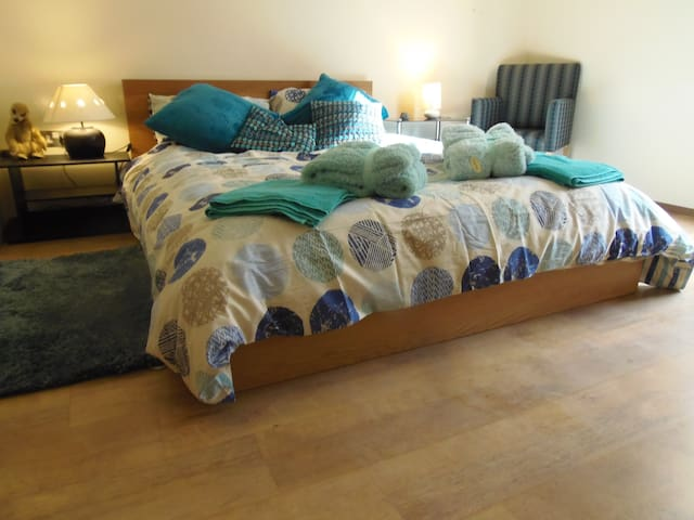 UK-Blue room-Spacious with breakfast table, Astons