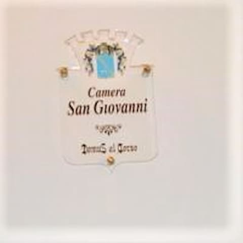 "Camera Matrimoniale ""San Giovanni""."