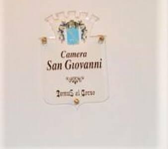 "Camera Matrimoniale ""San Giovanni""."