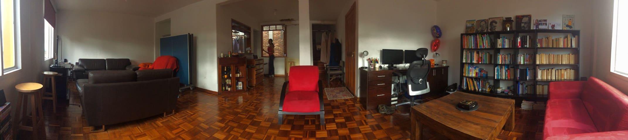 Une chambre à Bogota / La Macarena - Bogotá - Apartemen