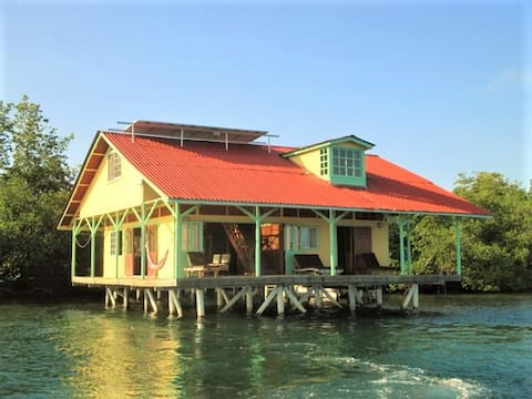 Unbelievable Over-the-Water House!