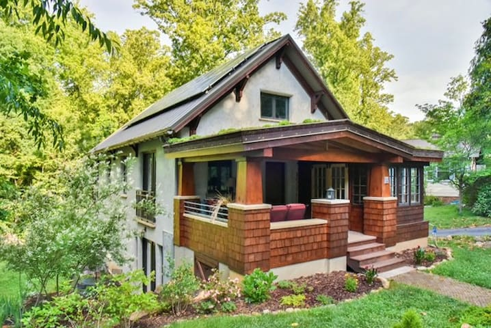 Amazing, One of a Kind, Green Home in W. Asheville - Asheville - Muu