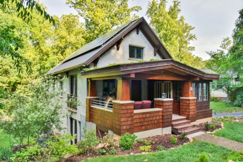 amazing one of a kind green home in w asheville in