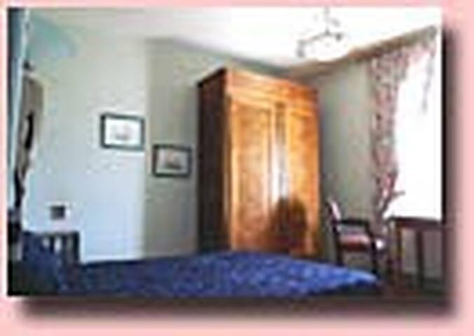 Chambre prestige manoir écossais - Saint-Jouan-des-Guérets - Guesthouse