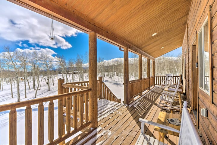 NEW! Inviting Lodge in Fairplay w/ Private Deck!