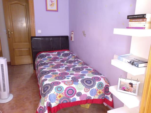 Habitación individual en el Centro de Valencia