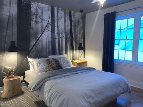 Chambre dans gîte - Chambre la Scandinave