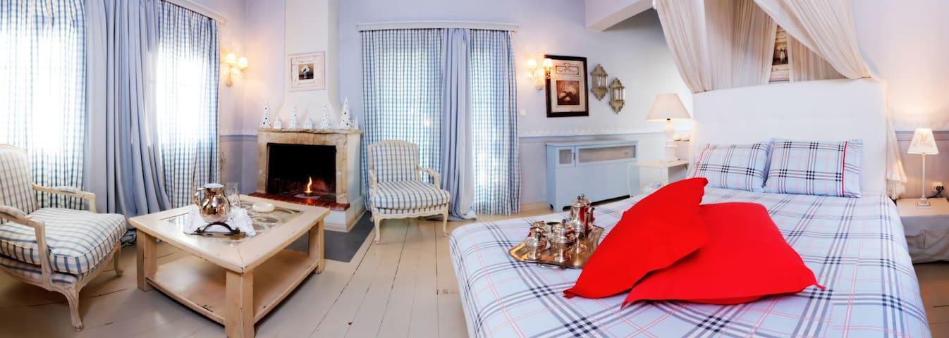 Anerada's Blue suite apartment - Megalo Chorio - Casa adossada