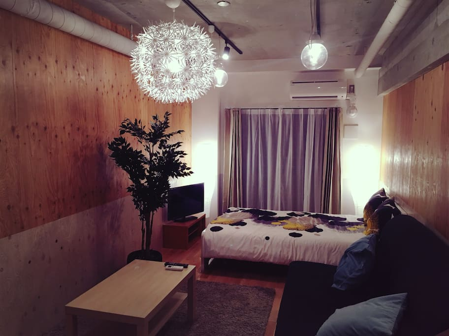 Beautiful and cozy room good for two to four people.