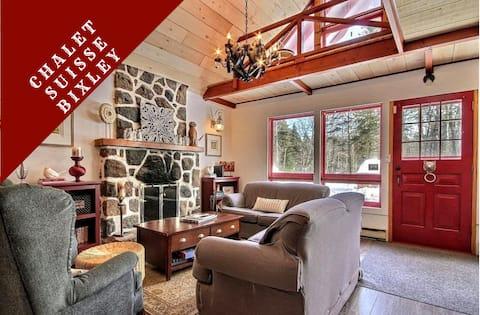 Swiss Cabin Bixley - Laurentians -  1h Montreal