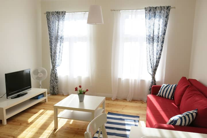 Apartment for 4+2 persons, central location