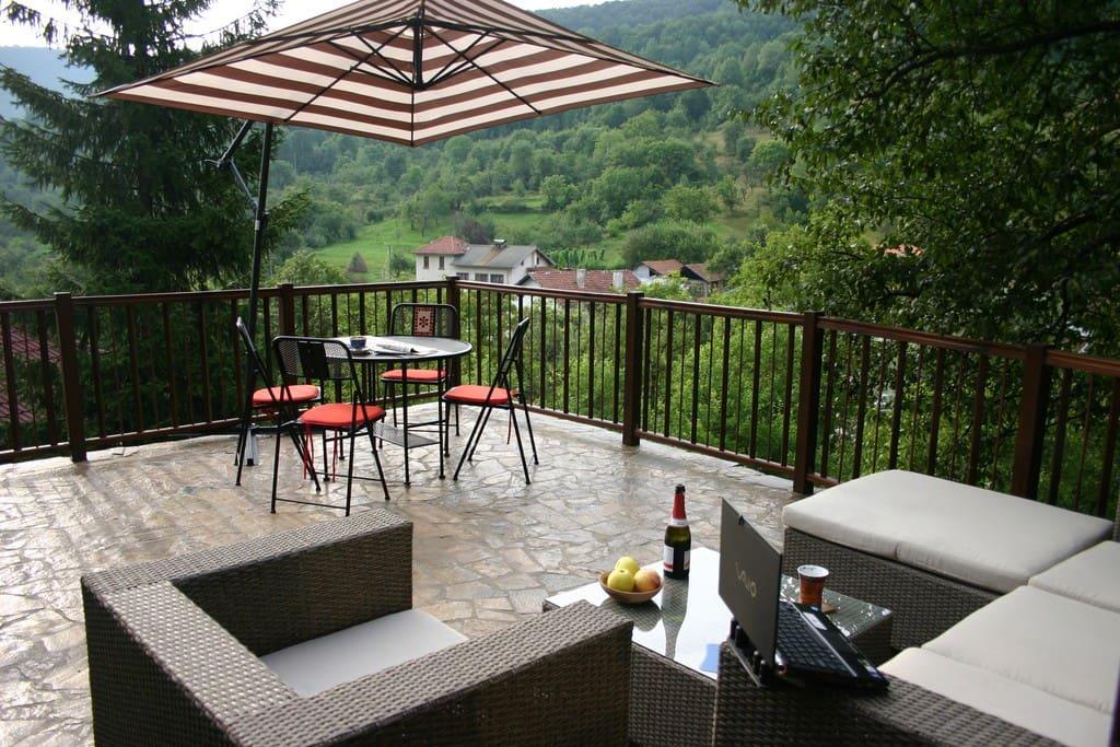 Terrace - summer