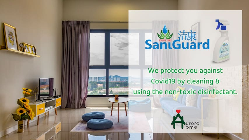 Pavilion/5pax/Well Sanitized/Stay Safe/Puchong
