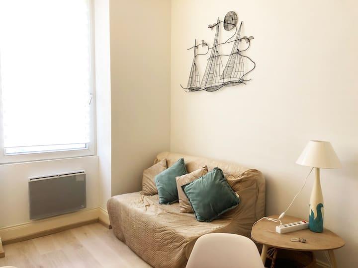 Duplex confortable et chaleureux