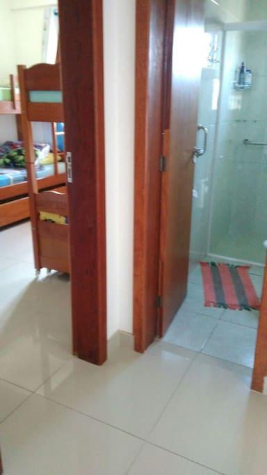 Banheiro da parte inferior