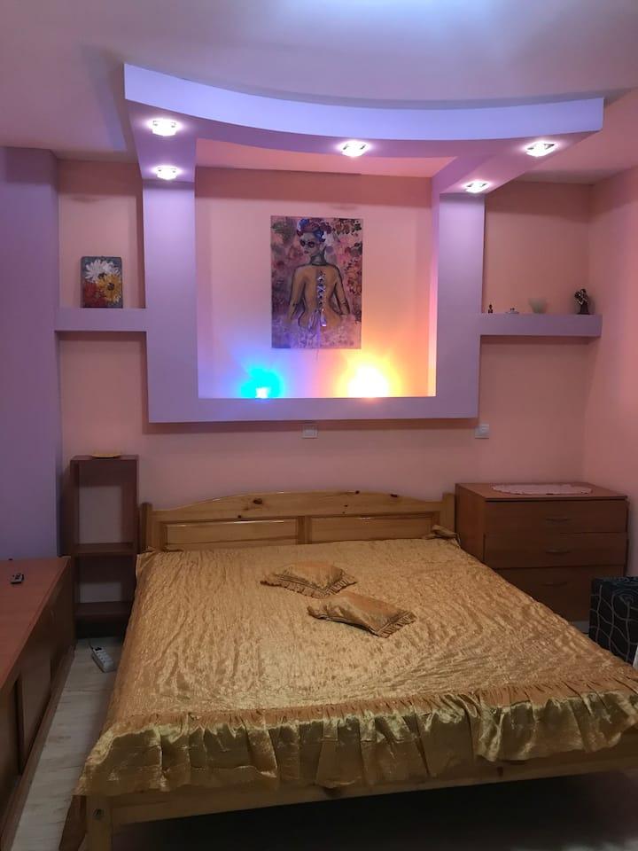Comfortable private room in Sofia center