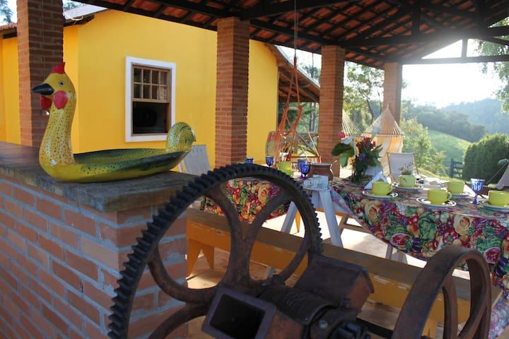 Turismo Rural - Essência da Bocaina - Silveiras - Mökki