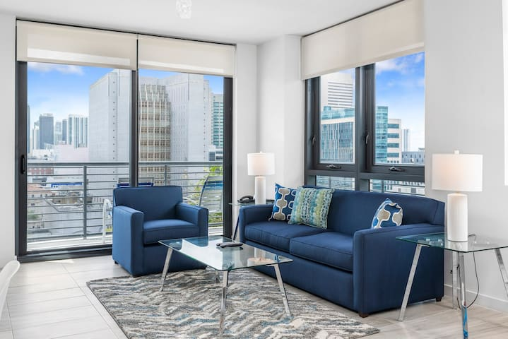 Amazing Two Bedroom Apartment in Downtown Miami