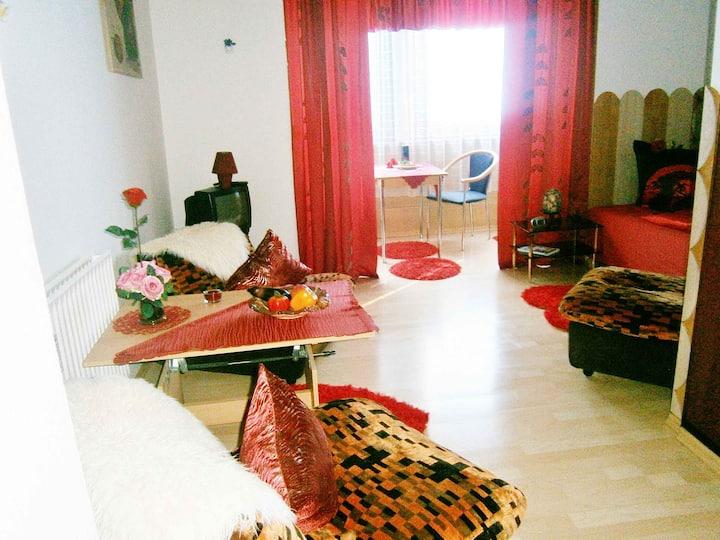 Appartementhaus BARTH, (Bad Liebenzell), COMFORT-Appartement SUNSHINE, 28qm, maximal 2 Personen