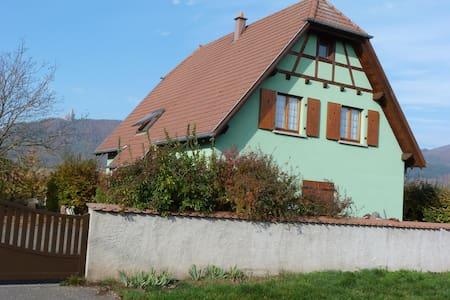 """Gîte """"Les Iris"""" au Centre de l'Alsace - Scherwiller - 独立屋"""