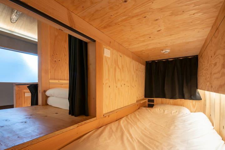 Bedrooms stair view