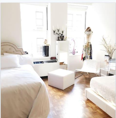 Cozy Wall St Studio w/ 2 comfy beds - Nova York - Apartamento