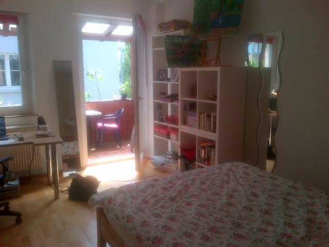 Helles, gemütliches, zentrales WG-Zimmer - Bayreuth - Apartment