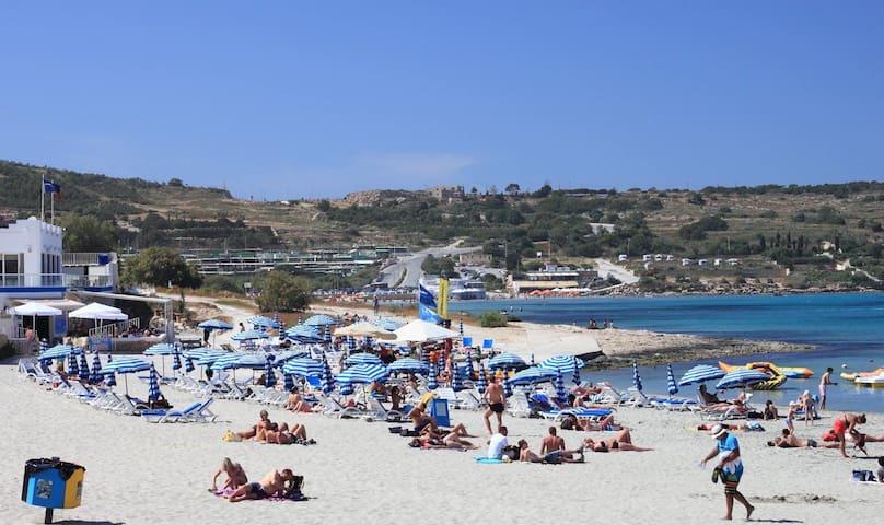 Sea Front 2 bedroom Apartment - Il-Mellieħa - Daire