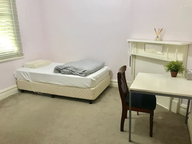 Two private rooms in prime location!