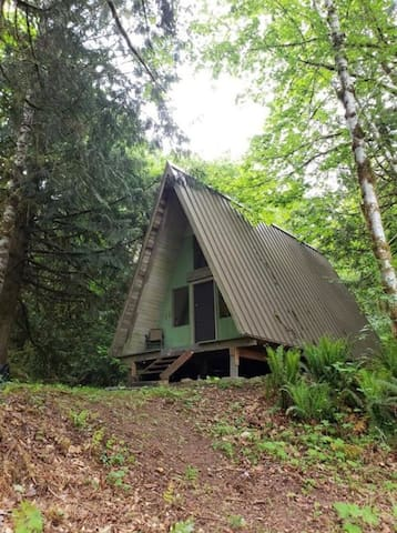 Camp Singing Wind, Simple Nature Cabin