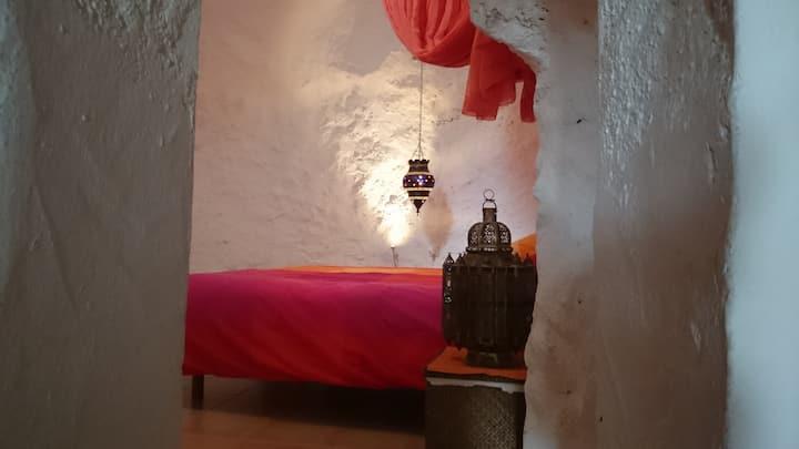 Casa Atalaya con cueva