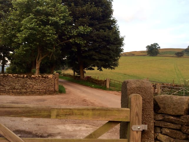 The barn @ Highlow Farm hathersage - England - 기타