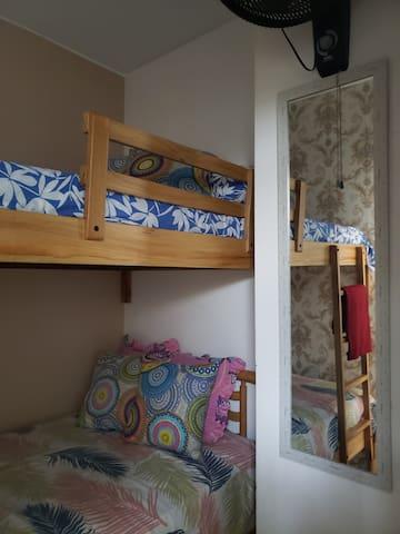 Todos los dormitorios son cómodos y acogedores...