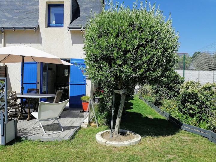 maison de vacances, jardin clos, plage 200m