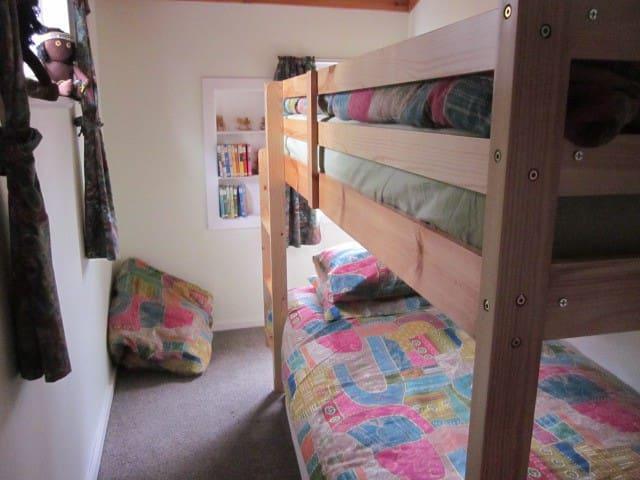 2nd bedroom bunks.