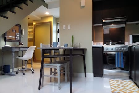 Fresh Greenbelt Loft! Park View in City Center - Makati - Loft