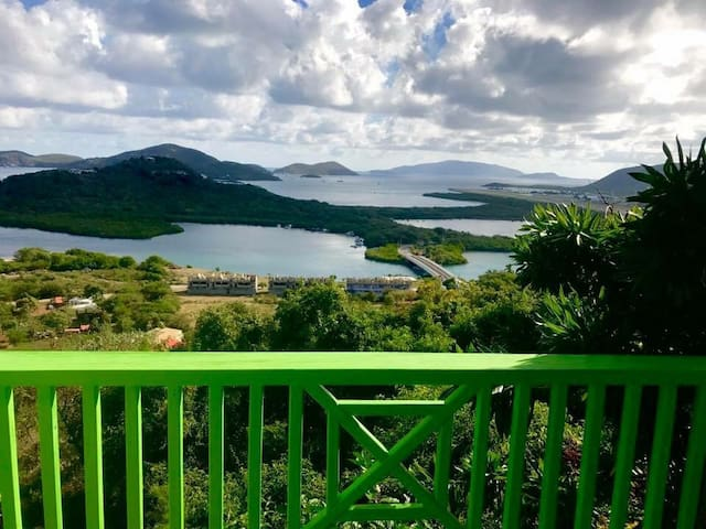 Spectacular Eastern Island View of BVI Super Value - Parham Town - Rumah