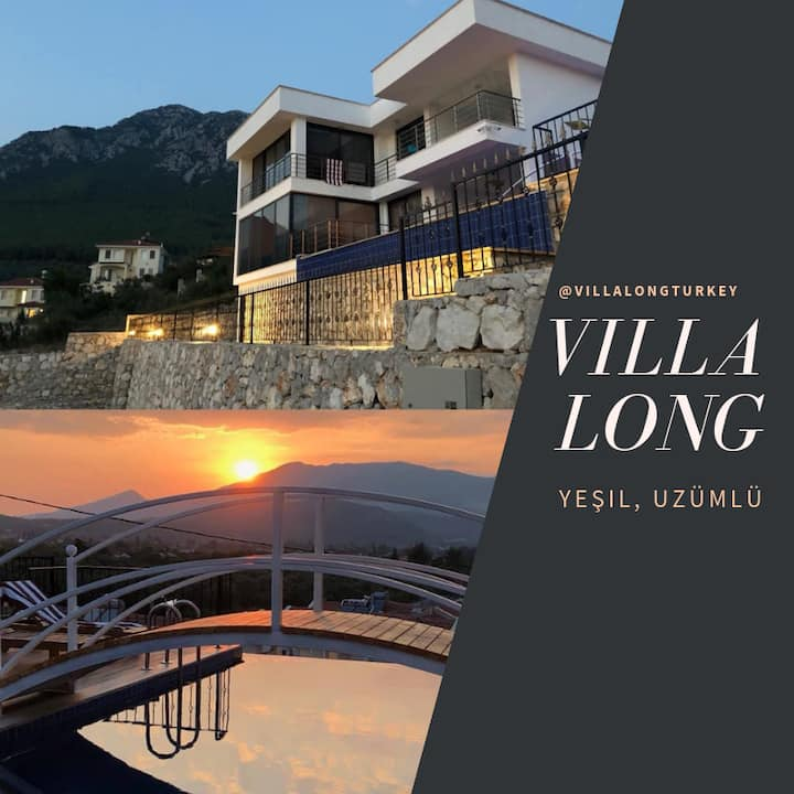 Villa Long - Yeşilüzümlü - Stunning Mountain views