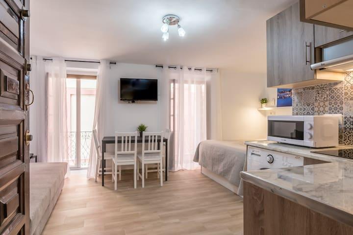 Apartamento Salvador en pleno centro de Sevilla.