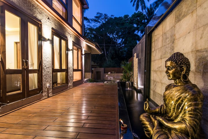 Luxurious 4BHK Villa With a Caretaker in Calangute