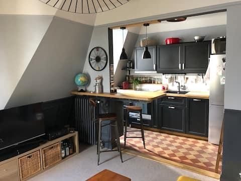 Charming apartment - Metro Marcel Sembat