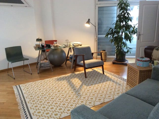 Lovely sunny apartment near beach! - บาร์เซโลนา