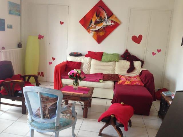 Chambre pour 1 ou 2 personnes dans le centre - Narbonne - Wohnung