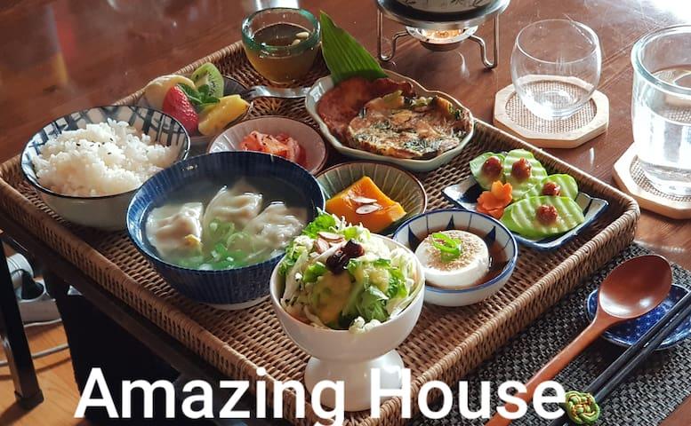 (FreeBreakfast)서울에서 조식이 가장 맛있는 이태원 게스트하우스 QueenBed