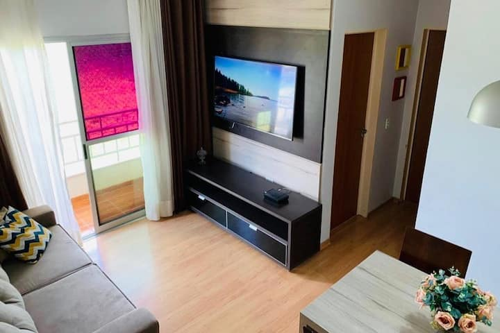 Apartamento  aconchegante - Condomínio Goiânia 2