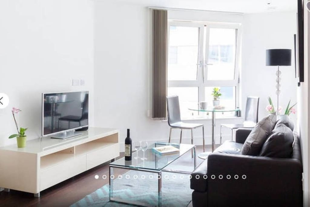 Bright, modern,  immaculately cleaned & maintained appartment