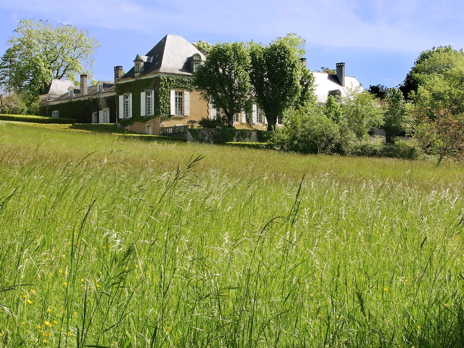 La Chartreuse du Maine, domaine de 27 ha où est située La Cuisine d'Alice