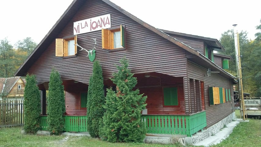 Vila Ioana imprejmuita de râu - Baraolt - Rumah
